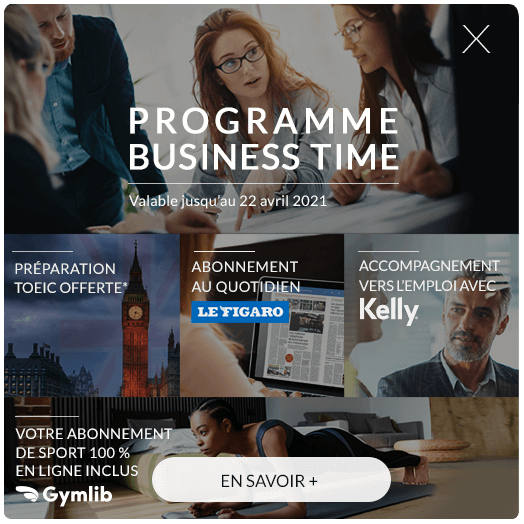 Programme Business Time + Gymlib