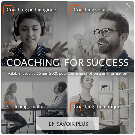 Offre Coaching for Success Juin 2020