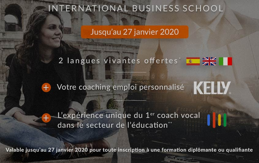 International Business School / image smartphones