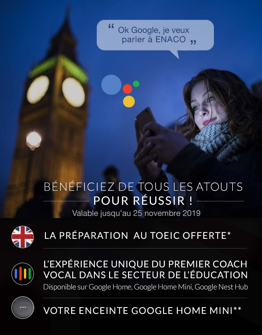 offre TOEIC / image smartphones